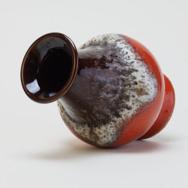 BAY Fat Lava Vase 66-14 Midcentury  home of vintage