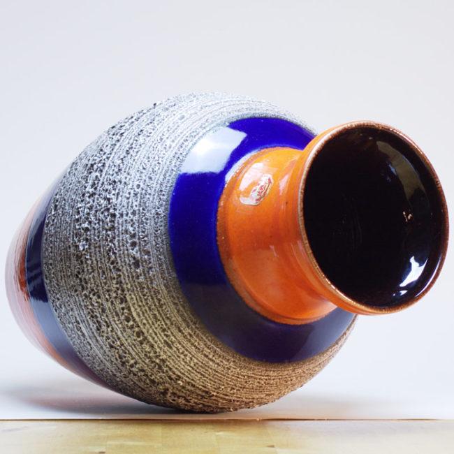 BAY Fat Lava Vase 66-40 Midcentury  home of vintage