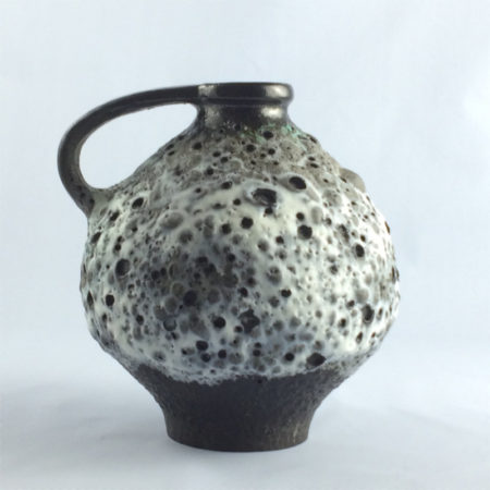 Ruscha Fat Lava Vase 352 Mid Century  home of vintage