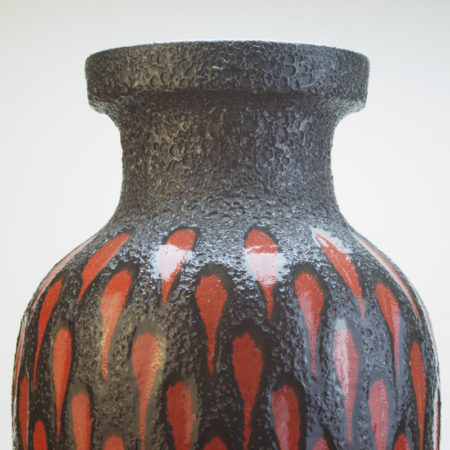 Scheurich Fat Lava Vase 241-47 West-Germany  home of vintage