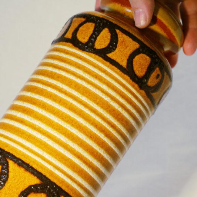 Scheurich Keramik Vase 517-30 West-Germany  home of vintage