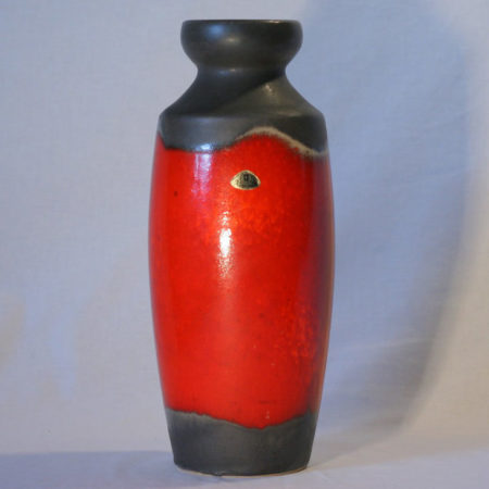 Ü-Keramik Uebelacker Fat Lava Vase 1271-30  home of vintage