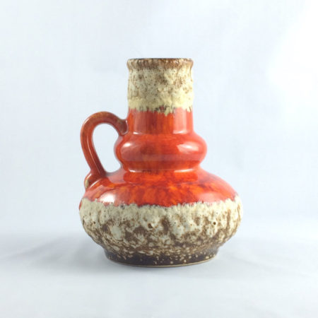 Jopeko Fat Lava Vase 402 16 Mid Century  home of vintage