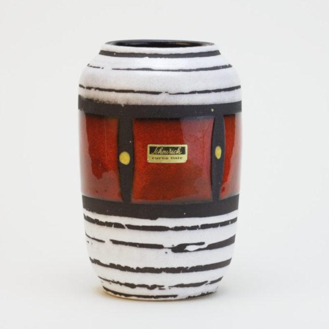 Scheurich Europ Line Vase 238-14 Midcentury  home of vintage