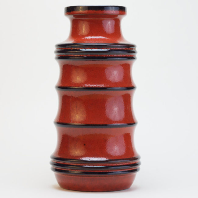 Scheurich Vase Pagode 266-28 Midcentury  home of vintage