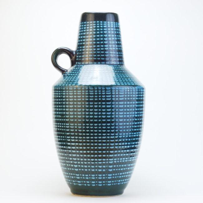 Scheurich Europ Line Vase 279-38 Midcentury  home of vintage