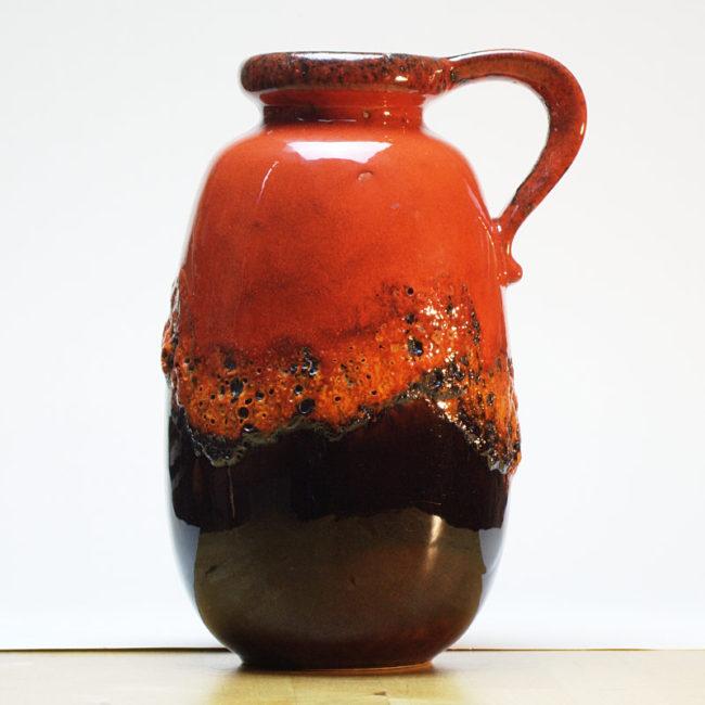 Scheurich Fat Lava Vase 484-27 West-Germany  home of vintage