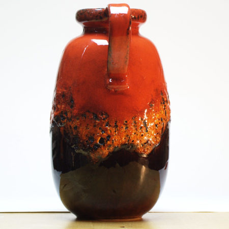 Scheurich Fat Lava Vase 484-27 West-Germany  home of vintage