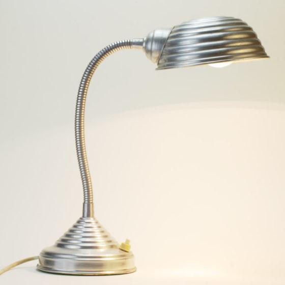 Alu Schwanenhals Lampe