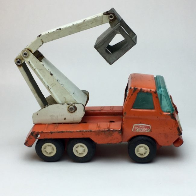 Tonka Rico Mini Sanson Bucket Truck  home of vintage