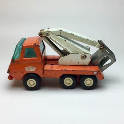 Tonka Mini Truck mit Ladekran zusammen gelegt
