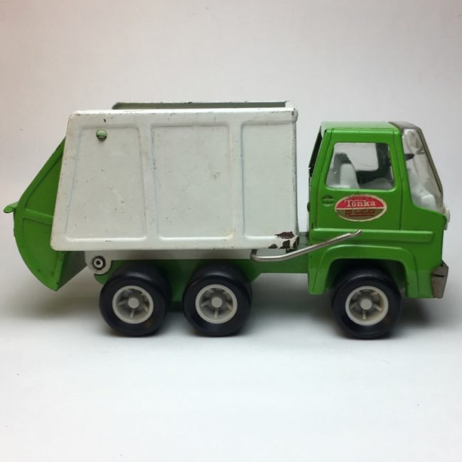 Tonka Rico Garbage Truck Müllwagen 22 cm  home of vintage