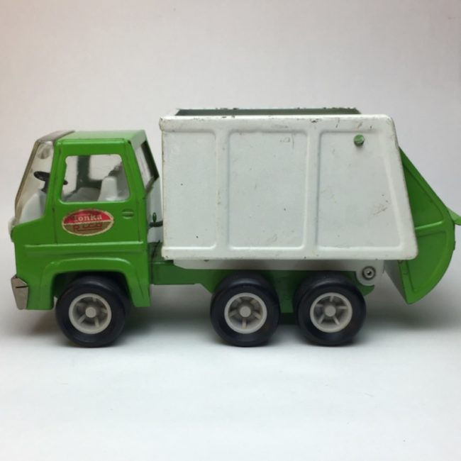Tonka Rico Garbage Truck Müllwagen 22 cm  home of vintage
