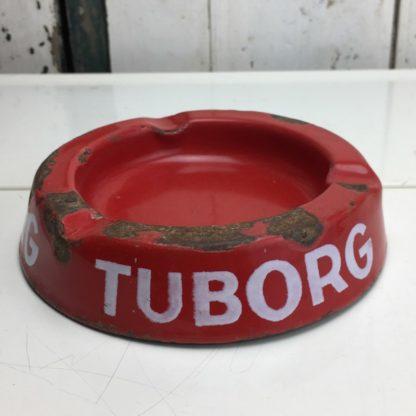 Aschenbecher Metall France Tuborg