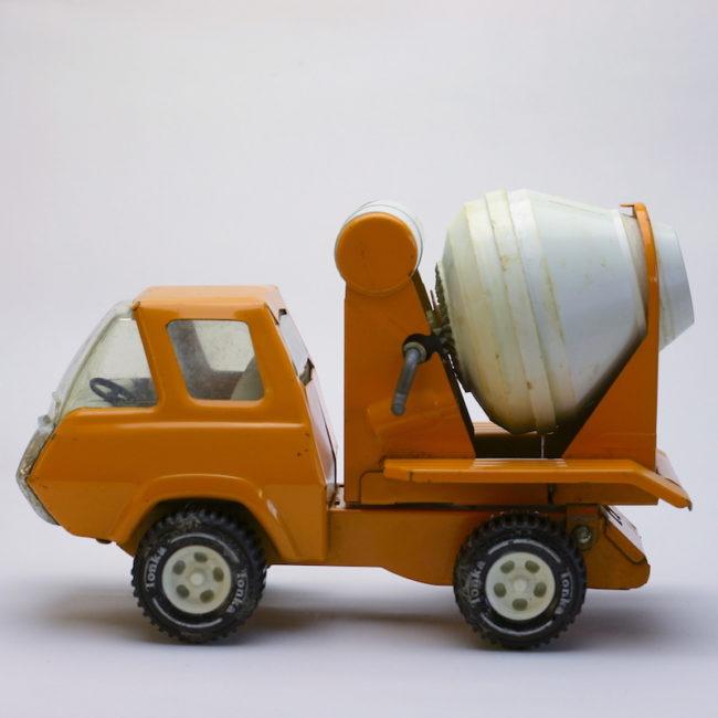 Vintage Tonka Zement Mischer Truck 1970s  home of vintage