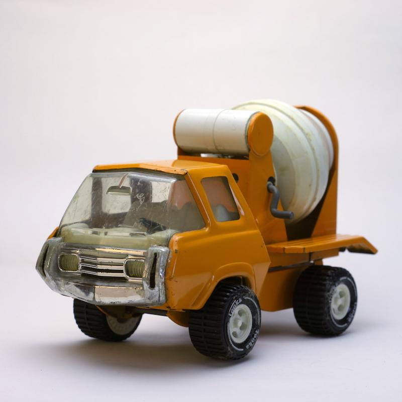 Tonka Zement Mischer Truck von Vorn