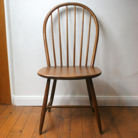 Windsor Chair Midcentury Loft Massivholz 1/6  home of vintage