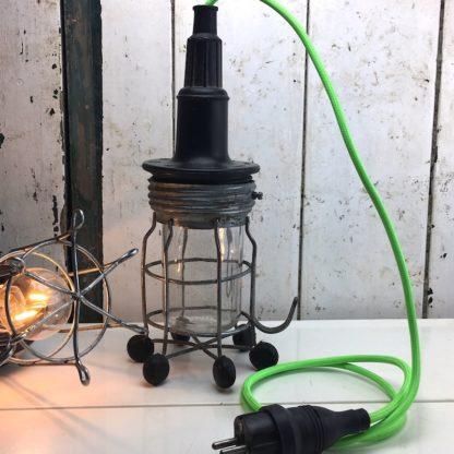 rademacher handlampe werkstatt schwarz glaskolben