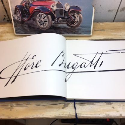 Bugatti by Hugh Conway and Jacques Greilsamer sign