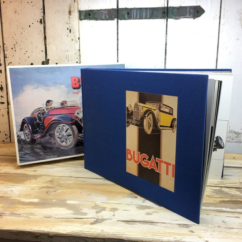 Bugatti by Hugh Conway and Jacques Greilsamer slipcase