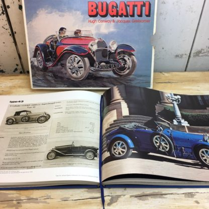 Bugatti by Hugh Conway and Jacques Greilsamer automobilia