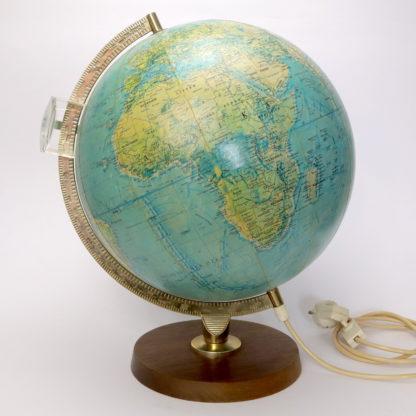 Leuchtglobus Scan-Globe Dänemark 1970 30 cm Mid Century dekorativ