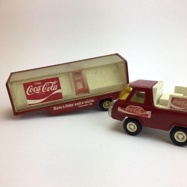 Vintage 1980 Buddy L Coca Cola Truck Konvolut  home of vintage