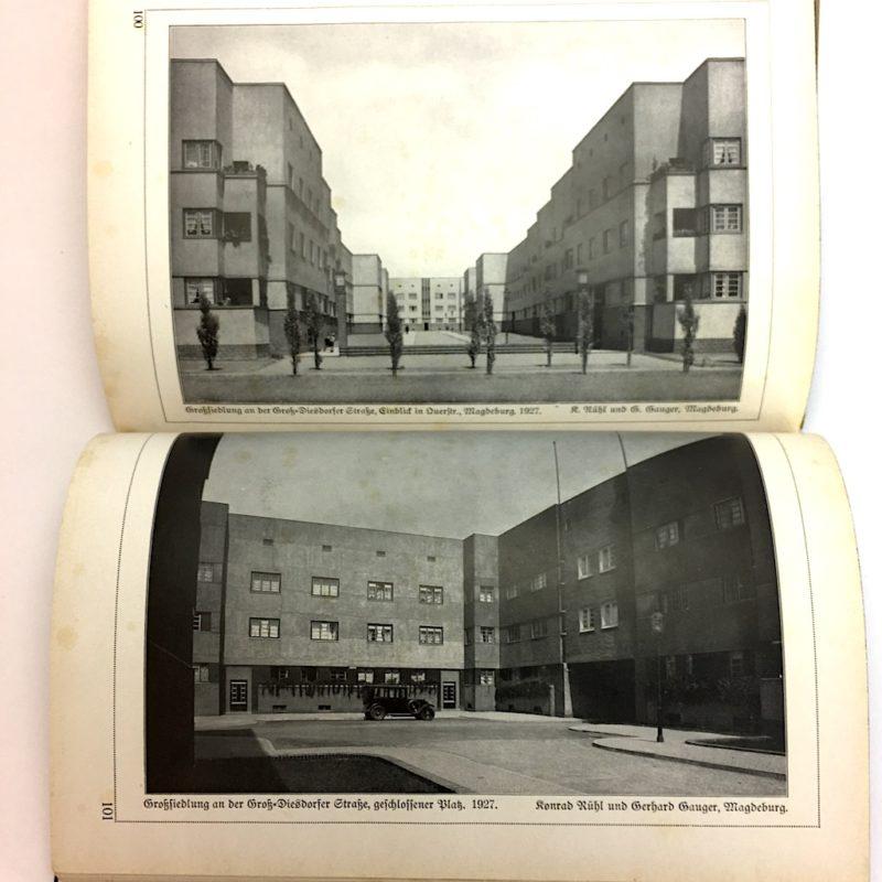 Original Ausgabe 1929 Bauhaus Design Die Blauen Bücher Wohnbauten Moderne