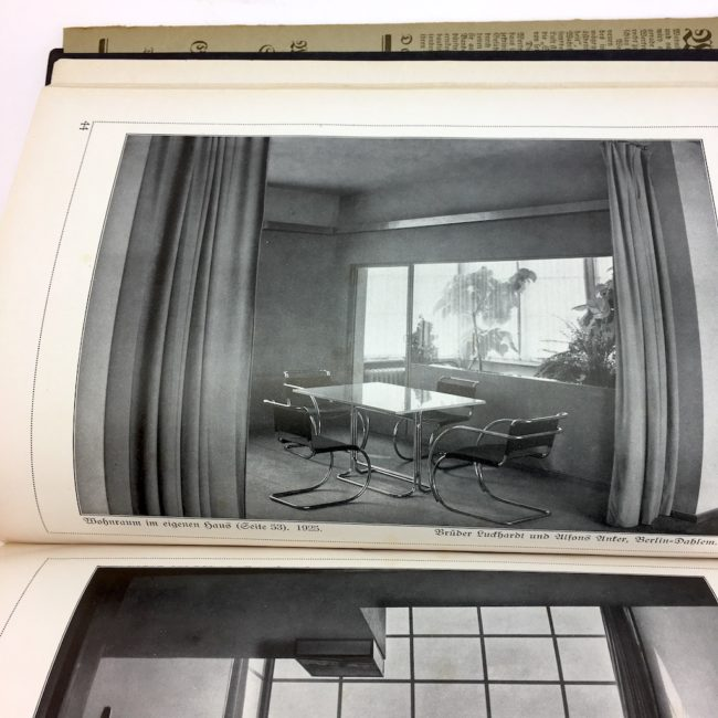 Die Blauen Bücher Wohnbauten und Siedlungen Seltene Ausgabe 1929 Bauhaus  home of vintage