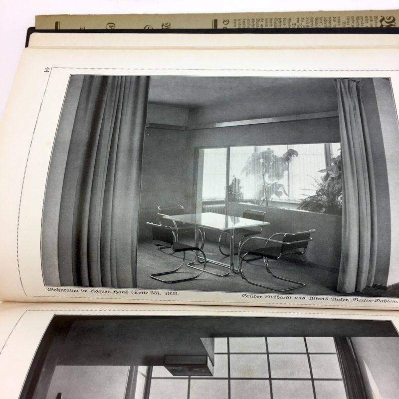 Original Ausgabe 1929 Bauhaus Design Die Blauen Bücher Wohnbauten Interior Wohnen