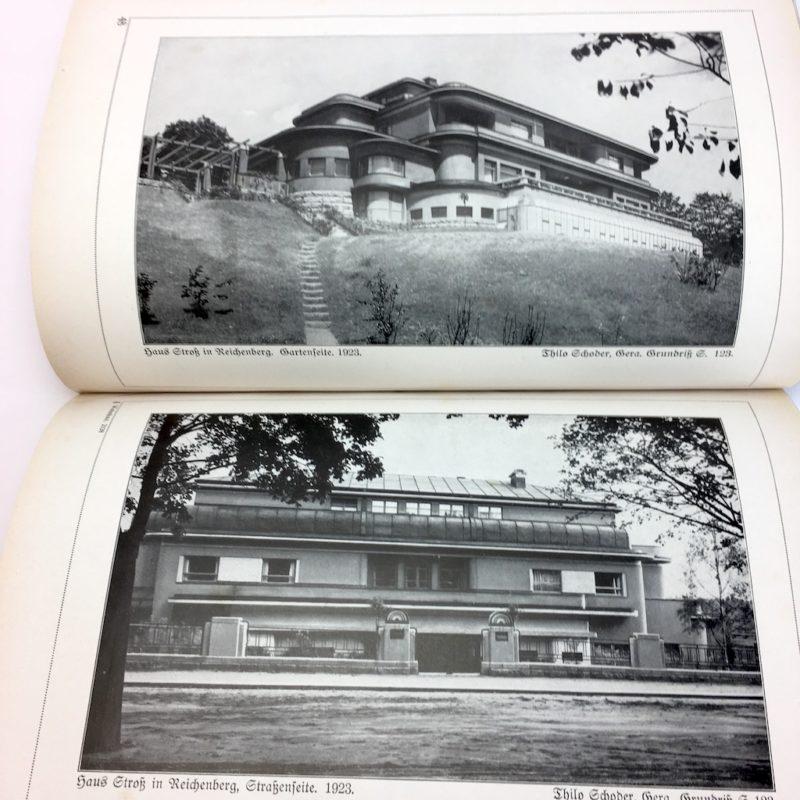 Original Ausgabe 1929 Bauhaus Design Die Blauen Bücher Wohnbauten Villa
