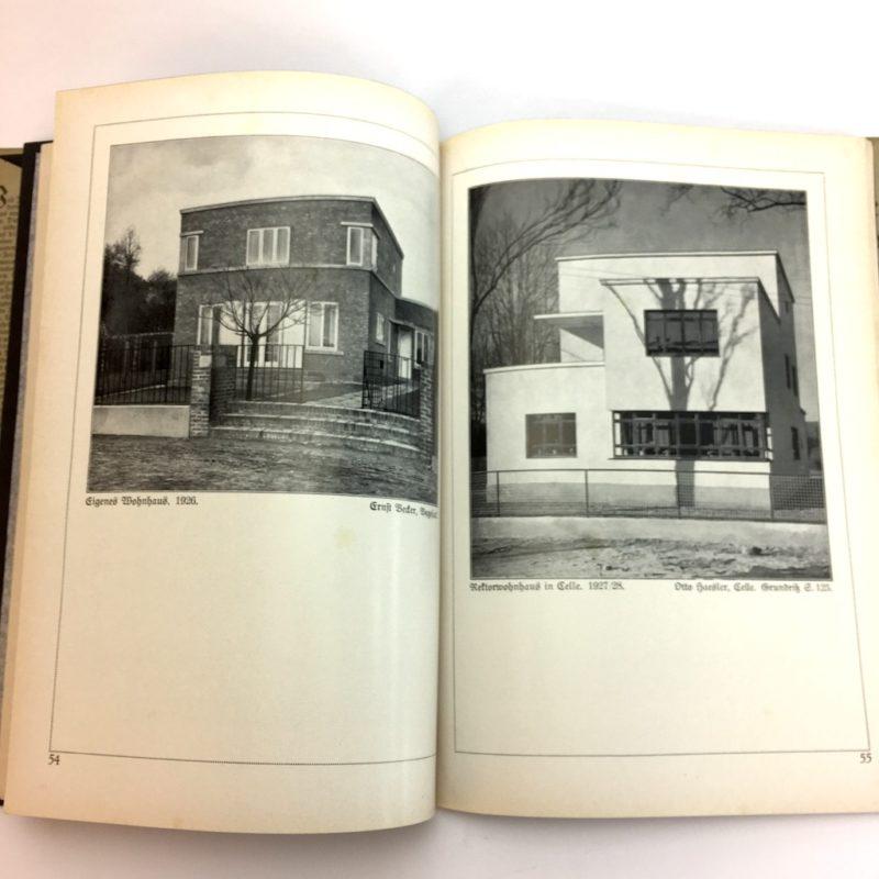 Original Ausgabe 1929 Bauhaus Design Die Blauen Bücher Wohnbauten Wohnen