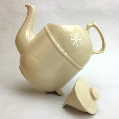 ronnefeldt kippkanne teekanne elfenbein selten gekippt offen