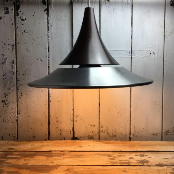 seltene hängelampe space age deckenlampe tulip design klassiker