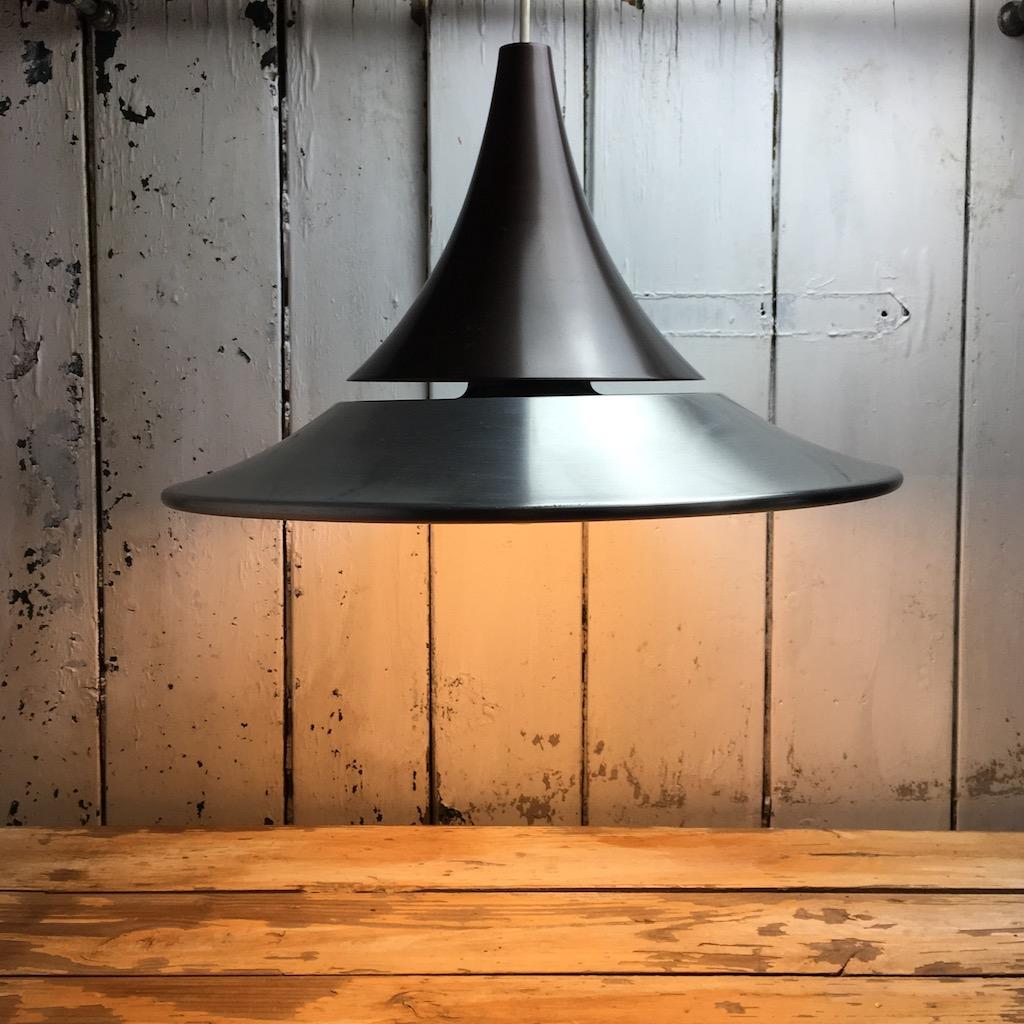 Seltene Hängelampe Space Age Deckenlampe Tulip Design 70er Home Of