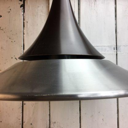 seltene hängelampe space age deckenlampe tulip design mid century