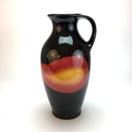 Vase Mid Century Bay W-Germany 631 25  home of vintage