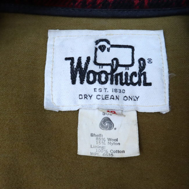 Classic Woolrich Hunter Jacke Wolle Buffalo Plaid Gr. 52/54 XL  home of vintage