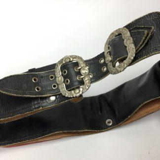 original gaucho gürtel leder schwarz 110 cm