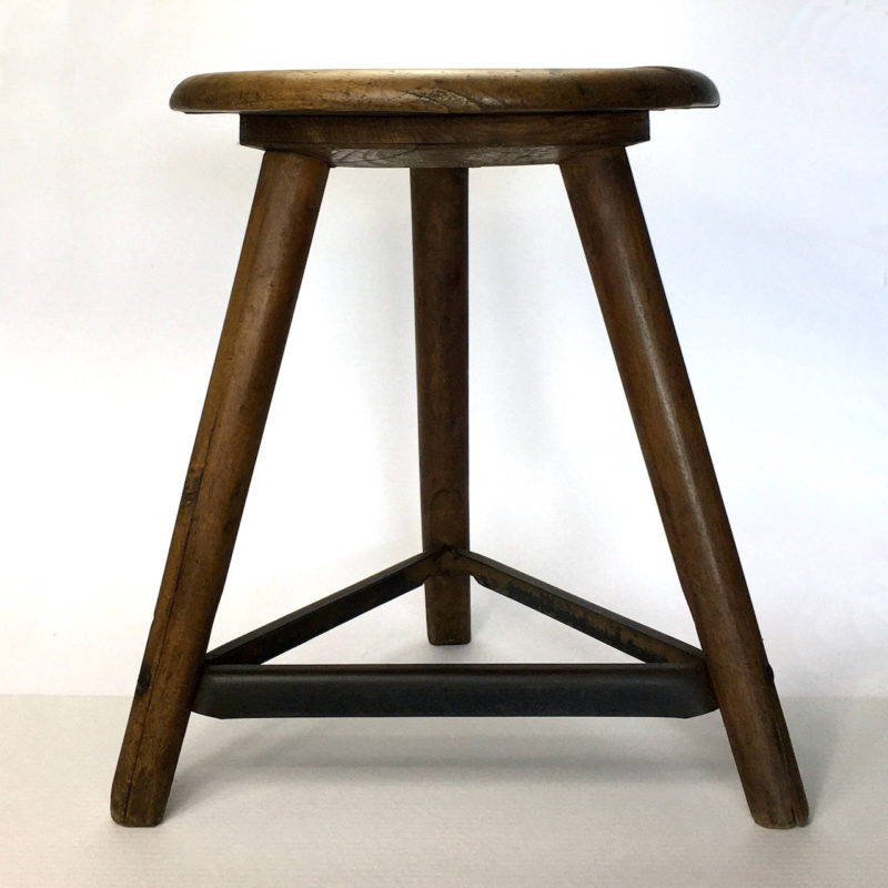 ama hocker art deco 45cm bauhaus stool workshop