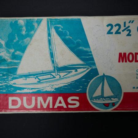 DUMAS 22 1/2 Gee-Gee Racing Sloop Segelboot Holzbausatz  home of vintage
