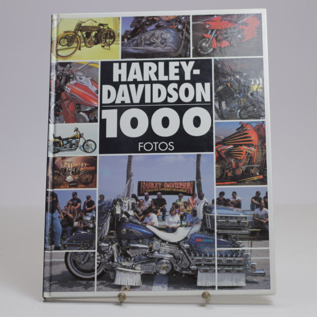 Harley Davidson - 1000 Fotos Courly Parmentier  home of vintage