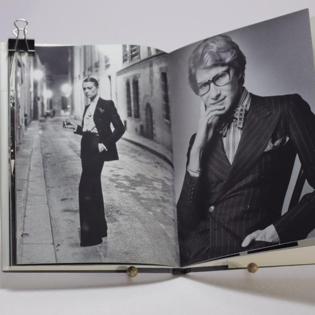 fashion memoir Yves Saint Laurent - Bergé  home of vintage
