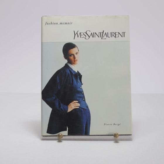 YSL Yves Saint Laurent Fashion Memoir Pierre Berge